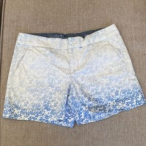 Tommy Hilfiger size 4 gradient shorts floral